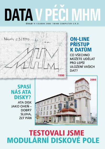 Data v péči MHM 1/2006