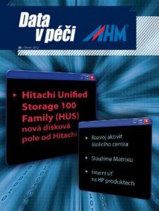 Data v péči MHM 26/2012